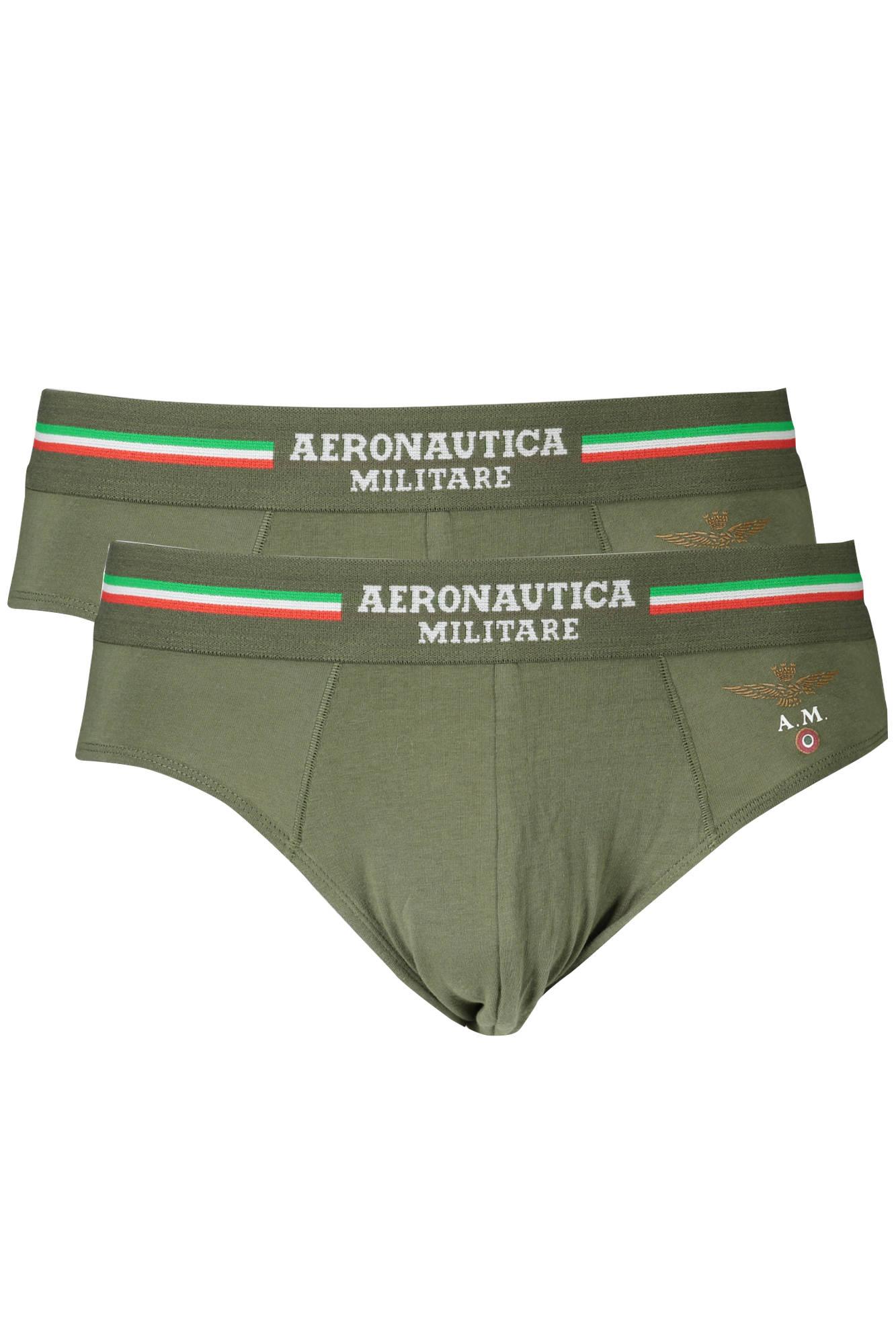 Aeronautica Militare Slip Uomo Verde
